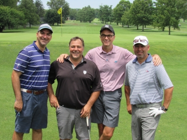 Four players at HKS Golf Outing 2017