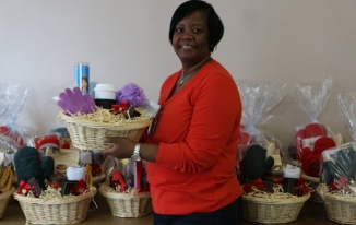 Tracy Dixon, a client of Helen Keller Services for the Blind