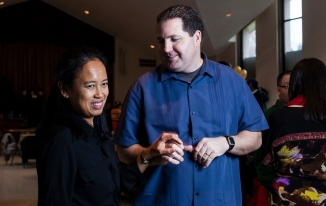 Maricar Marquez and her husband, Don Horvath PHOTO: Heather Walsh for The New York Times