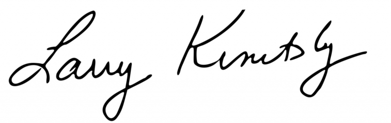 Larry Kinitsky signature